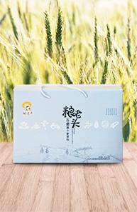 北京粮老头黑小麦石磨面粉